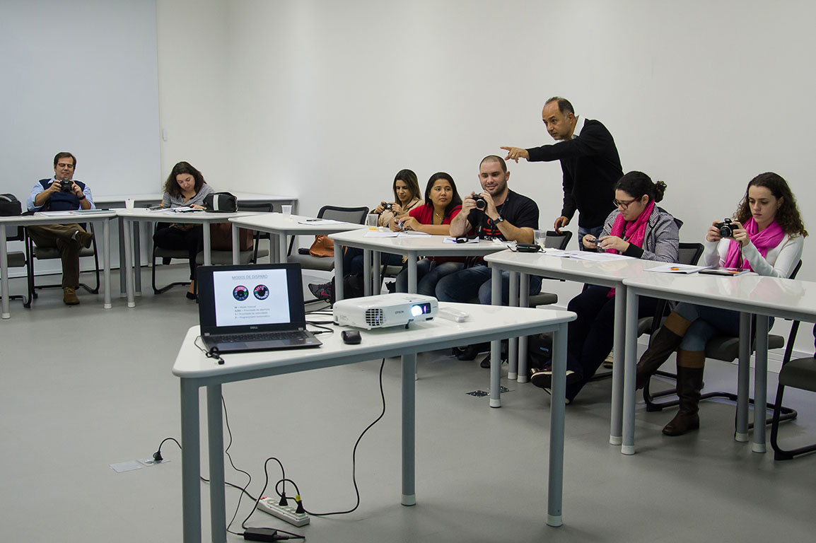 Curso de Fotografia In Company - Realizado na Festo do Brasil